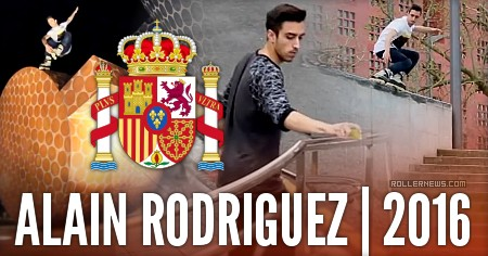 Alain Rodriguez (22, Spain): Edit by Mary Munoz (2016)