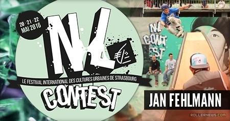 Jan Fehlmann: 2nd place @ NL Contest 2016 (France)