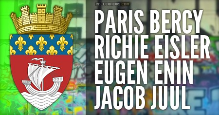 Bercy (Paris, France): 2016 Session with Richie Eisler, Eugen Enin & Jacob Juul