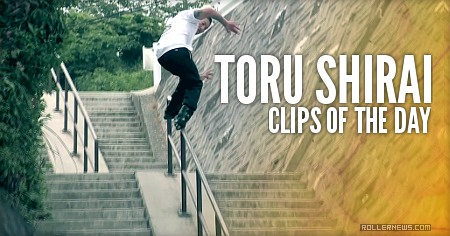 Clips of the day: Toru Shirai (Japan, 2016)