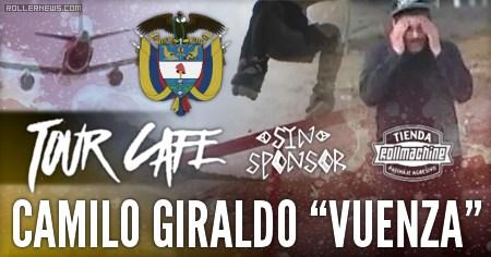 """Camilo Giraldo """"Vuenza"""" (32): Tour Cafe (2015)"""