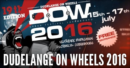 Dudelange on Wheels 2016 (Luxembourg): Teaser