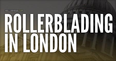 Rollerblading in London (2016) by Sim Warren