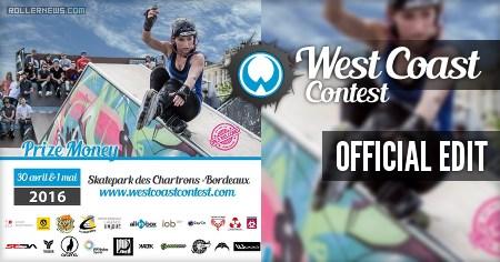 West Coast Contest 2016 (Bordeaux, FR): Edit