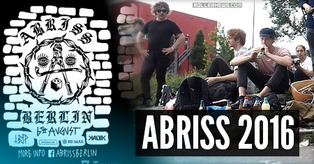 Abriss Contest 2016 (Berlin, Germany): Promo Edit