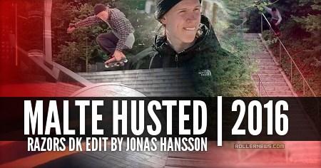 Malte Husted (DK): Razors Edit by Jonas Hansson