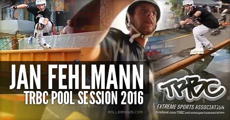 Jan Fehlmann: TRBC Pool Session 2016 (Switzerland)
