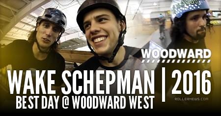 Wake Schepman: Best day @ Woodard West (2016)