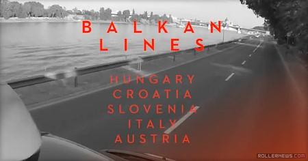 Balkan Lines (2015) by Bjoern Pakusa