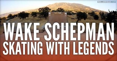 Wake Schepman: Skating with Legends (2016)