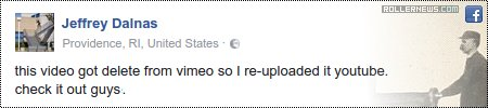 Jeff Dalnas on Facebook