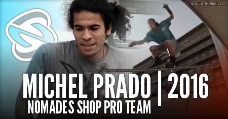 Nomadeshop (France) Introduces Michel Prado (Spain) To The 2016 Pro Team