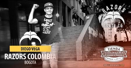 Diego Vega (Razors Colombia): 2016 Promo Edit