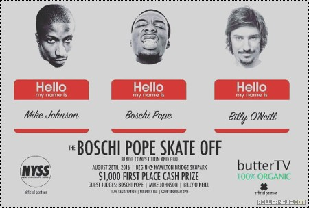 The Boschi Pope Skate Off (2016)