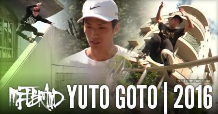 Yuto Goto (Japan): MFTBrand Edit (2016)