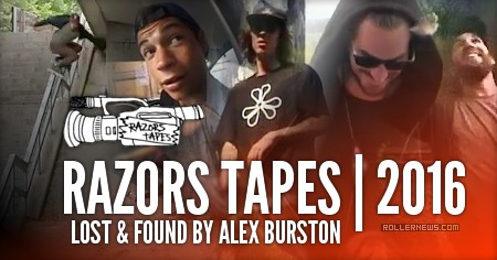 Razors Tapes: Lost & Found (2016) by Alex Burstons