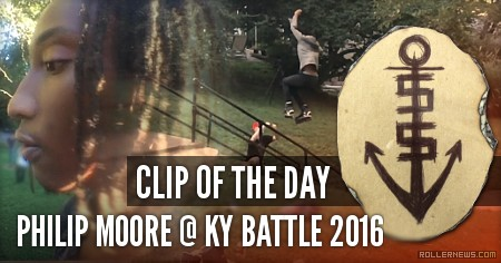 Clip of the day: Philip Moore @ KY Battle 2016