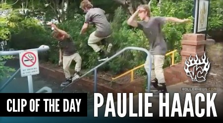 Clip of the day: Paulie Haack (Australia)