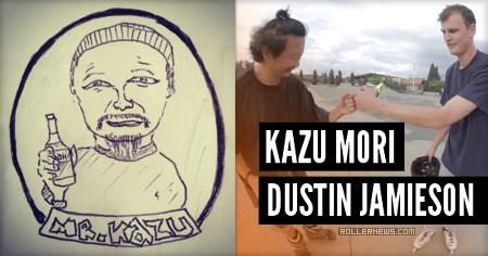 Kazu Mori (48, Japan): North America Trip | Battle Ground VLOG with Dustin Jamieson