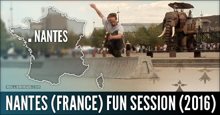 Nantes (France): Fun Session (2016) by Cavin Brinkman