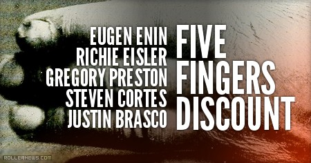 Five Finger Discount (2015) - Montage with Eugen Enin, Richie Eisler, Gregory Preston, Steven Cortes & Justin Brasco