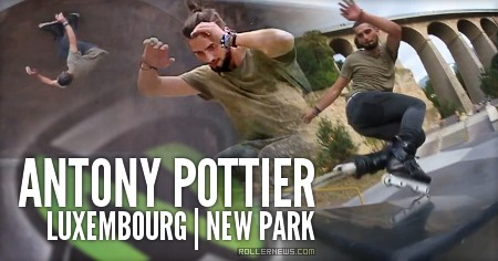 Antony Pottier: New Park in Luxembourg | Nomadeshop Raw Clips (2016)
