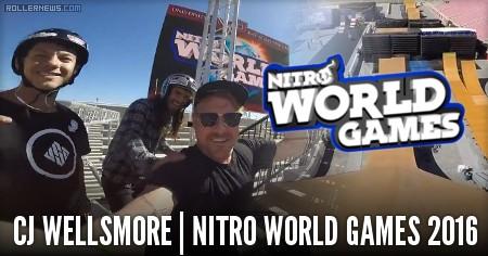 Cj Wellsmore: Nitro World Games 2016 | Raw Footage