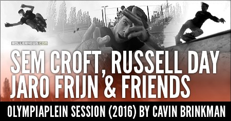 Sem Croft, Russell Day, Jaro Frijn & Friends: Olympiaplein Session (2016) by Cavin Brinkman