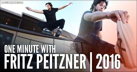 One Minute with Fritz Peitzner | 2016 Leftovers