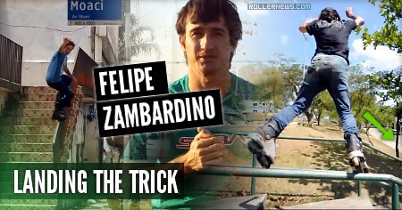 Felipe Zambardino (32, Brazil): Landing the Trick