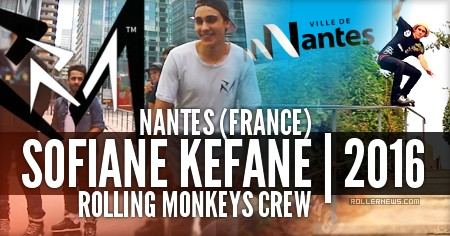 Sofiane Kefane: Rolling Monkeys 2016 (Nantes, France)
