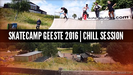 Skatecamp Geeste 2016 (Germany): Chill Session