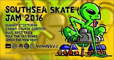 Southsea skate jam (2016) by Aaron Turner