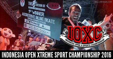 IOXC: Indonesia Open Xtreme sport Championship 2016