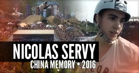 Nicolas Servy: China Memory (2016)