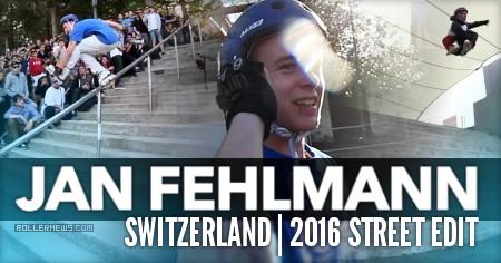 Jan Fehlmann (Switzerland): 2016 Street Edit