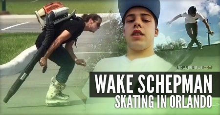 Wake Schepman: Skating in Orlando (2016)