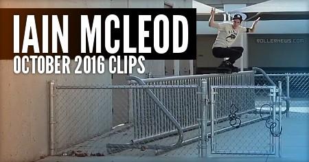 Iain Mcleod: October 2016 Clips