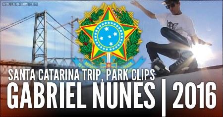 Gabriel Nunes (Brazil): Santa Catarina Trip, Park Clips