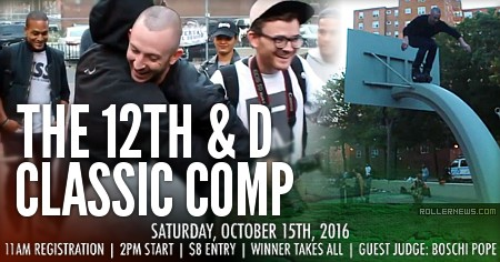 The 12th & D Classic Comp (NYC, 2016)