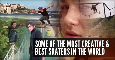 Some of the most creative and best Skaters in the World: Nils Jansons, Julien Cudot, Chynna Weierstal, John Bolino & CJ Wellsmore [Compilation]