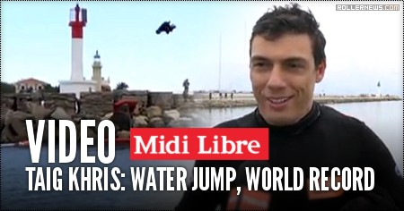 Taig Khris: Water Jump, World Record (2016)