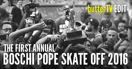 The First Annual Boschi Pope Skate Off 2016