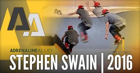 Stephen Swain: A few trick in Adrenaline Alley (2016)
