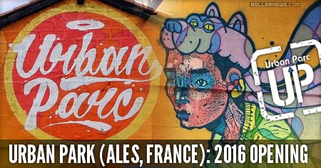 Urban Park (Ales, France): Opening (2016)