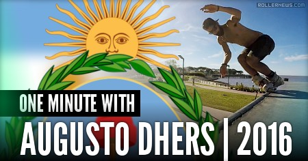 One minute with Augusto Dhers (Argentina, 2016)
