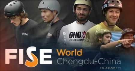 FISE World Chengdu-China (2016): Semi Finals Highlights