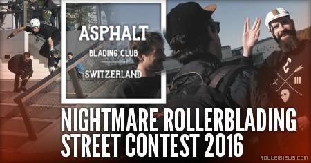 Nightmare Rollerblading Street Contest 2016