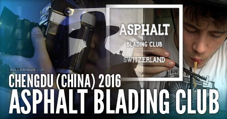Asphalt Blading Club in Chengdu (China)