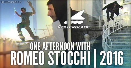 One Afternoon with Romeo Stocchi (France)